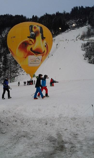 neue Talabfahrt --Zillertal-Arena
