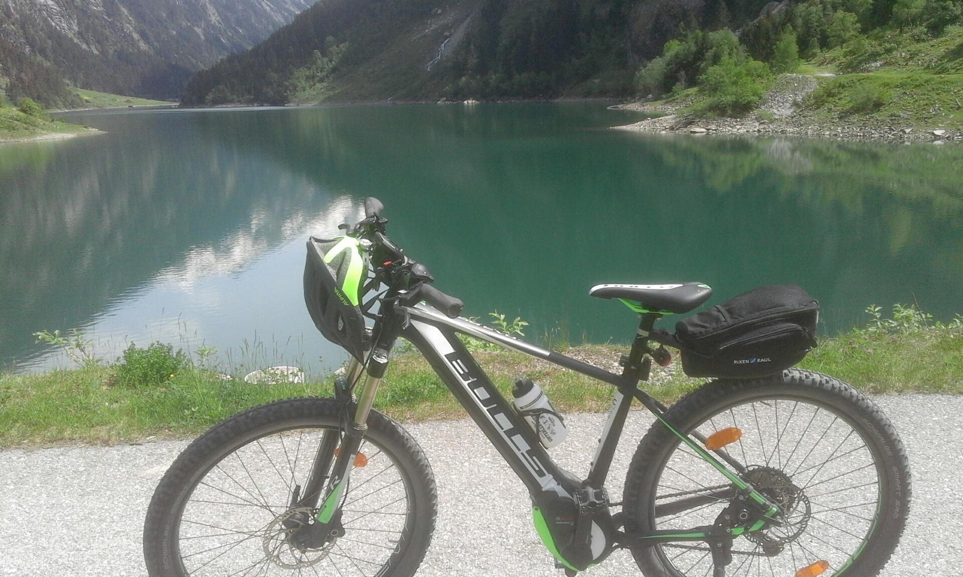 Radtour ins Stilluptal -Bike tour into the Stilluptal